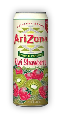 Arizona Kiwi Strawberry Tea Image