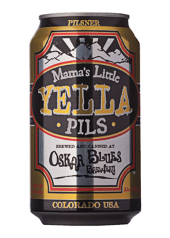 Oskar Blues Mama's Little Yella Pils Image