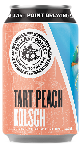 Ballast Point Tart Peach Kolsch Image