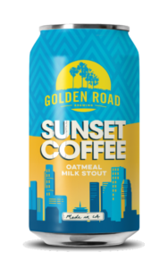 Golden Road Sunset Coffee Image