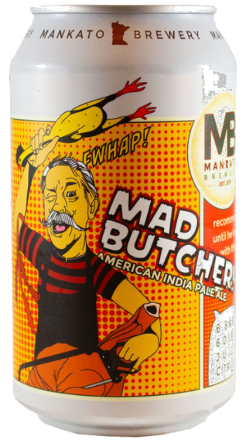 Mankato Mad Butcher IPA Image