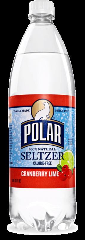 Polar Cranberry Lime Seltzer Image