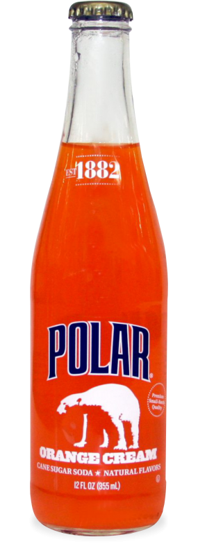 Polar Orange Cream Soda Image
