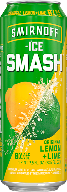 Smirnoff Ice Smash Lemon Lime Image