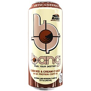 Bang Keto Coffee Cookies & Cream Image