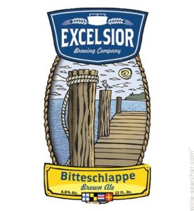 Excelsior Bitteschlappe Brown Image