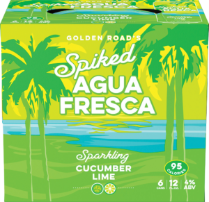 Spiked Agua Fresca Cucumber Lime Image