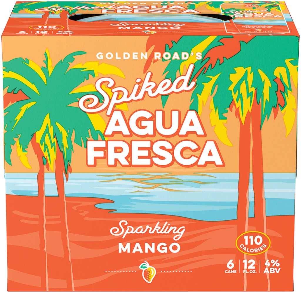 Spiked Agua Fresca Mango Image