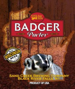 Sand Creek Badger Porter Image